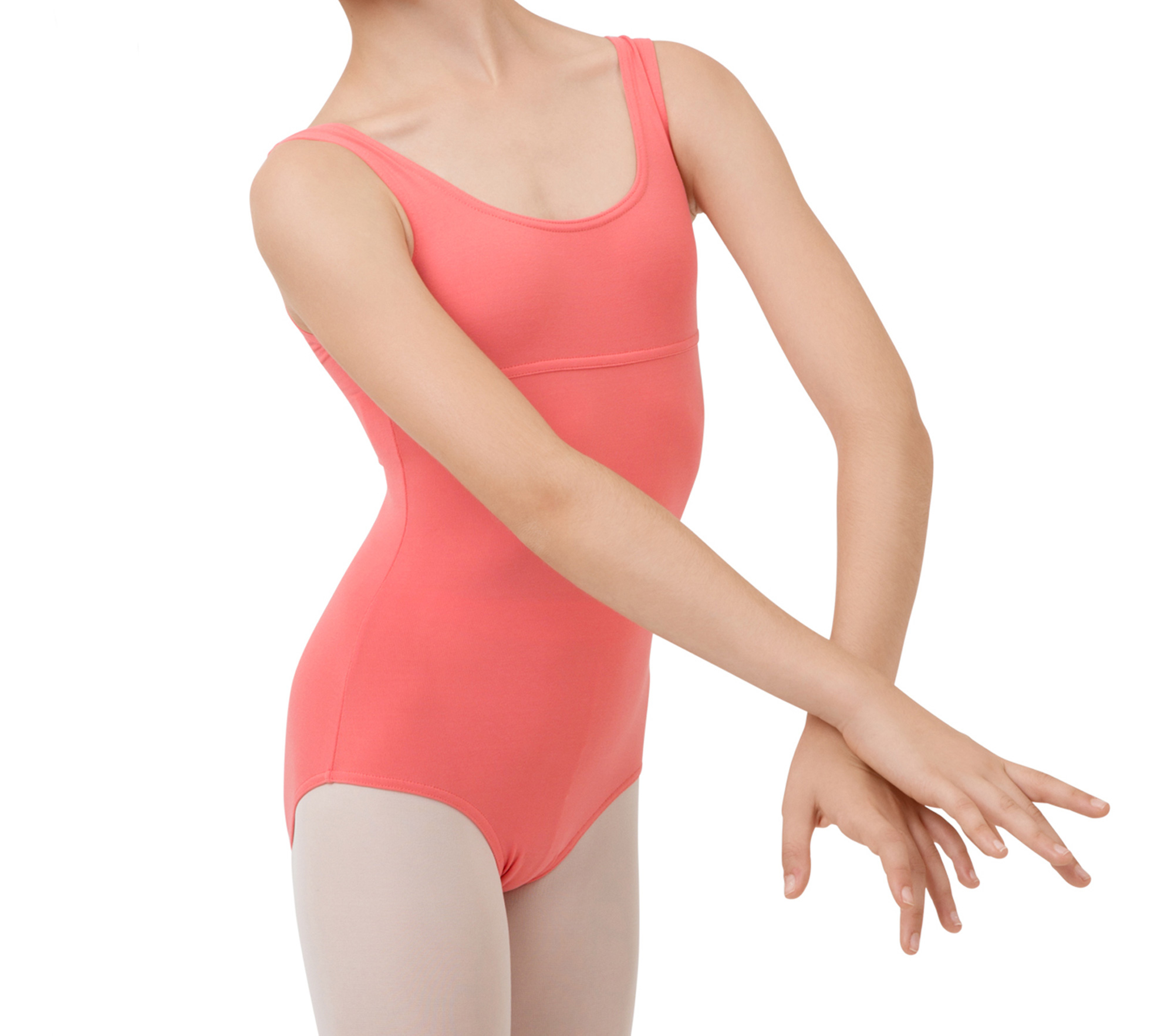 Large straps leotard