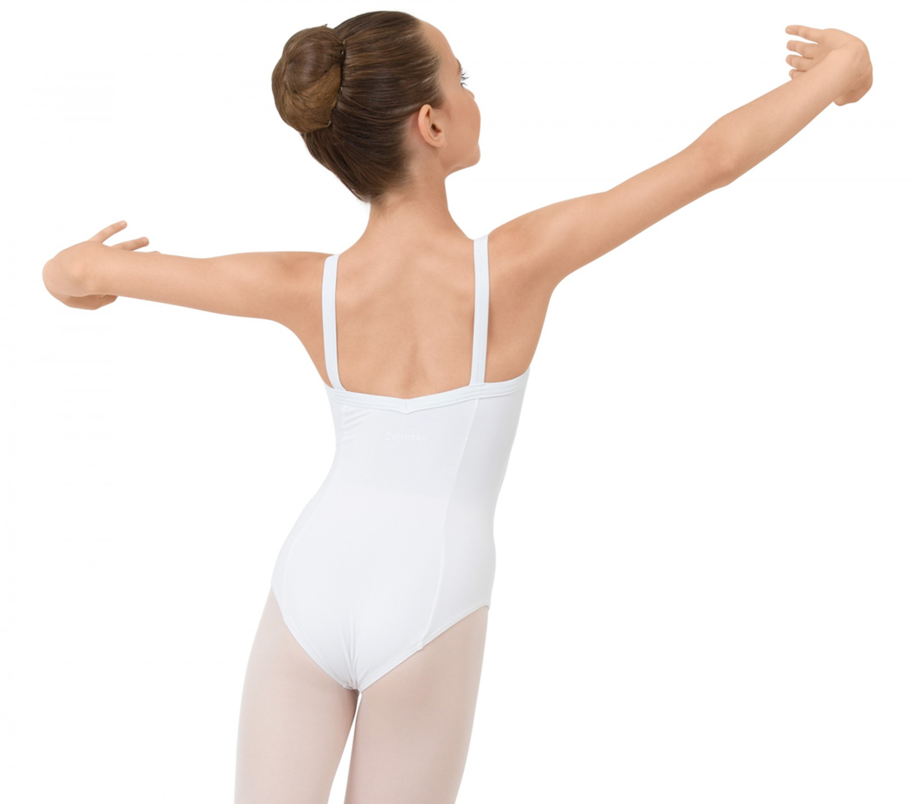 42620f7f4 Girl gathered front leotard