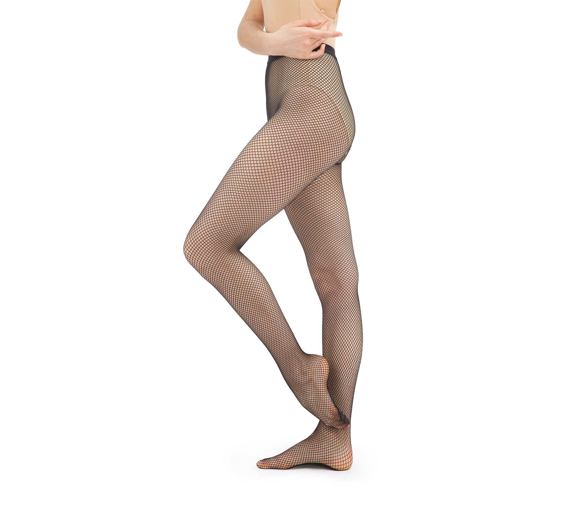 Net footed tights