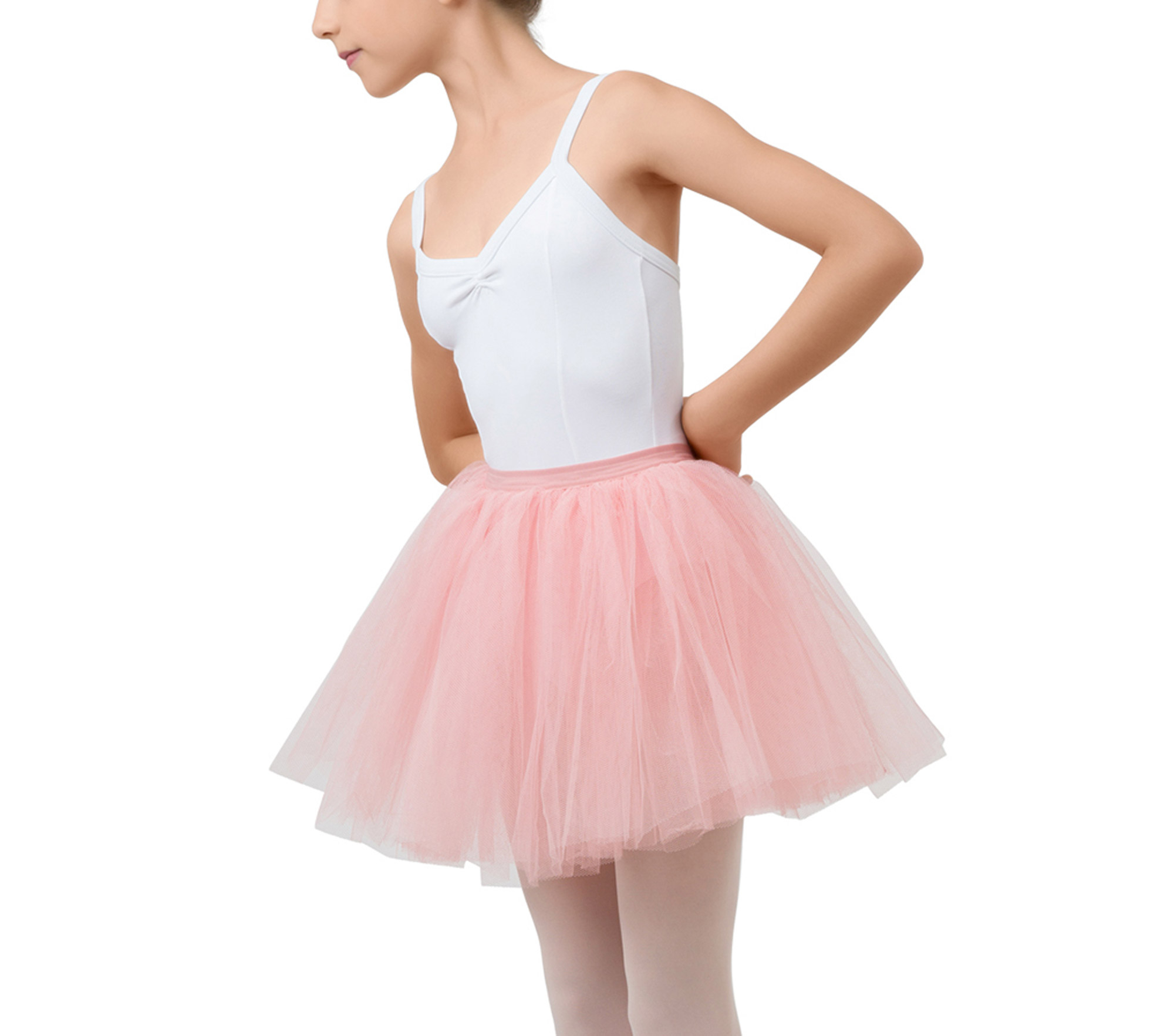 Short tulle skirt