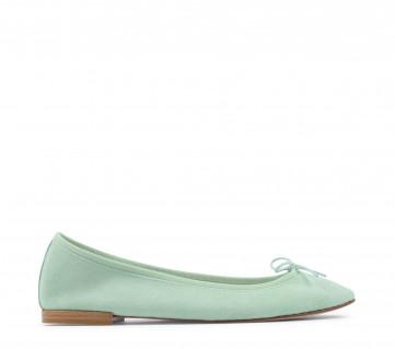 Cendrillon ballerinas - Pistachio green