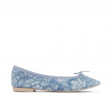 High Lili ballerinas - Vegan - Navy blue
