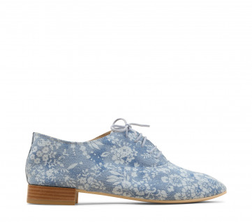Charlotte oxford shoes - Navy blue