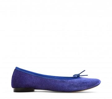 High Cendrillon ballerinas - Gypsy blue