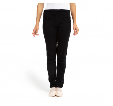Knitted warm-up leggings
