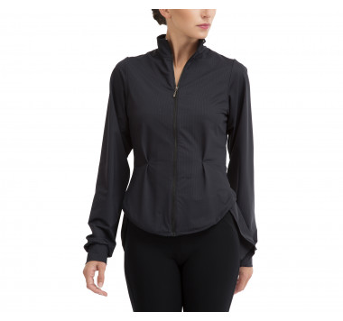 Stretch shirt jacket