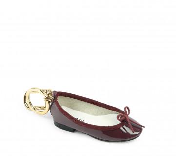 Cendrillon keychain - Santal burgundy