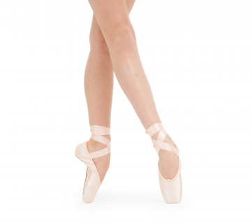 La Carlotta Pointe shoes - Medium box Soft sole - Salmon melon