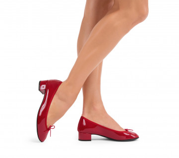 Lou ballerinas - Flammy red