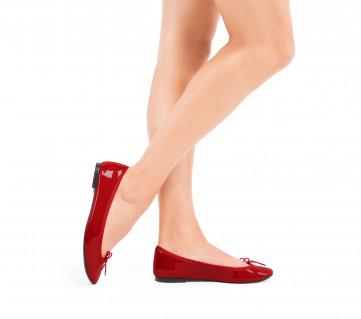 Lili ballerinas - Flammy red