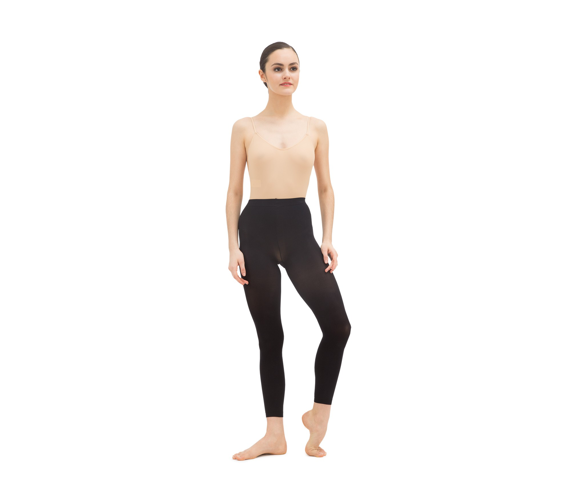Footless dance tights