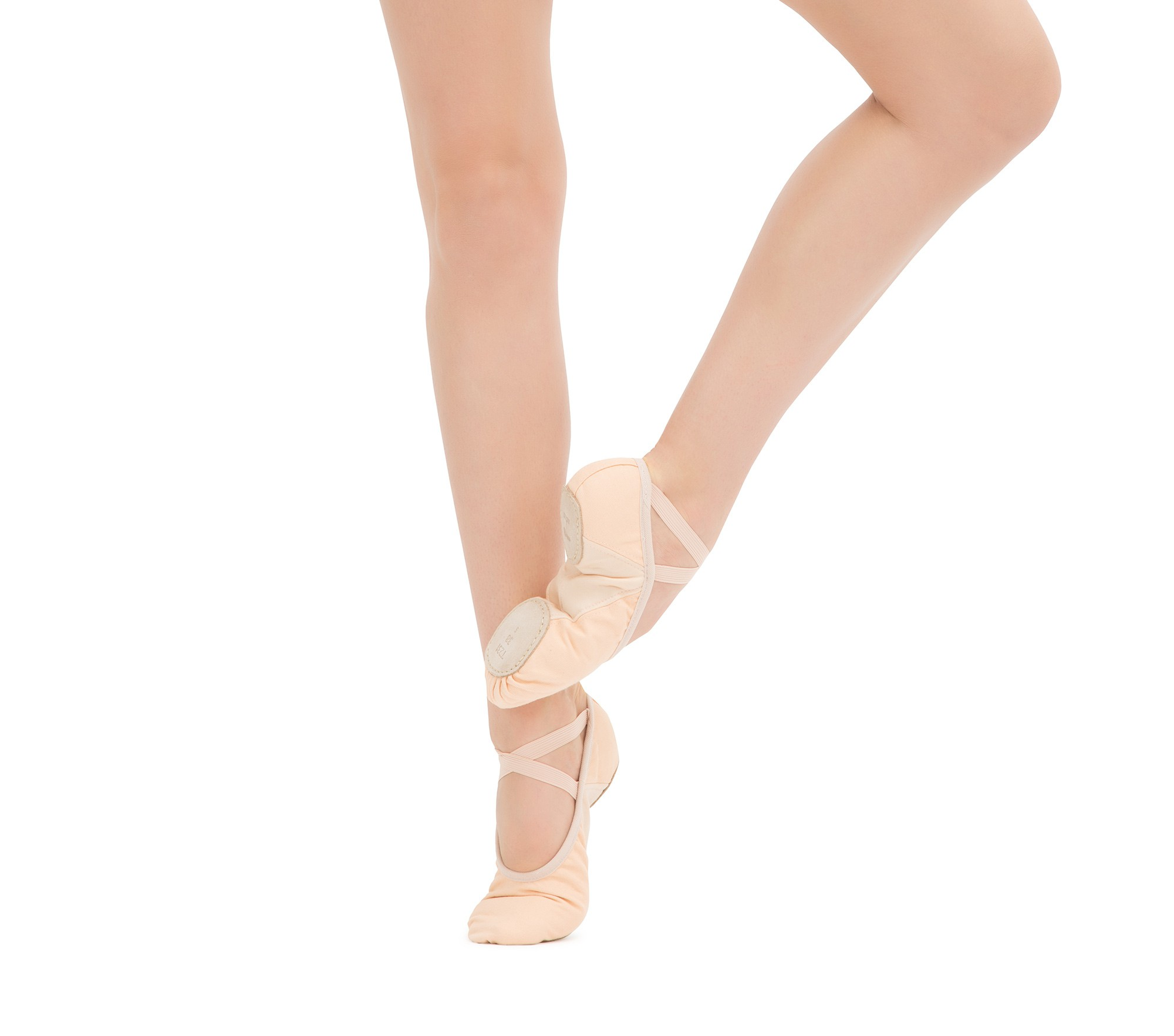 Professional soft ballet shoes with split sole