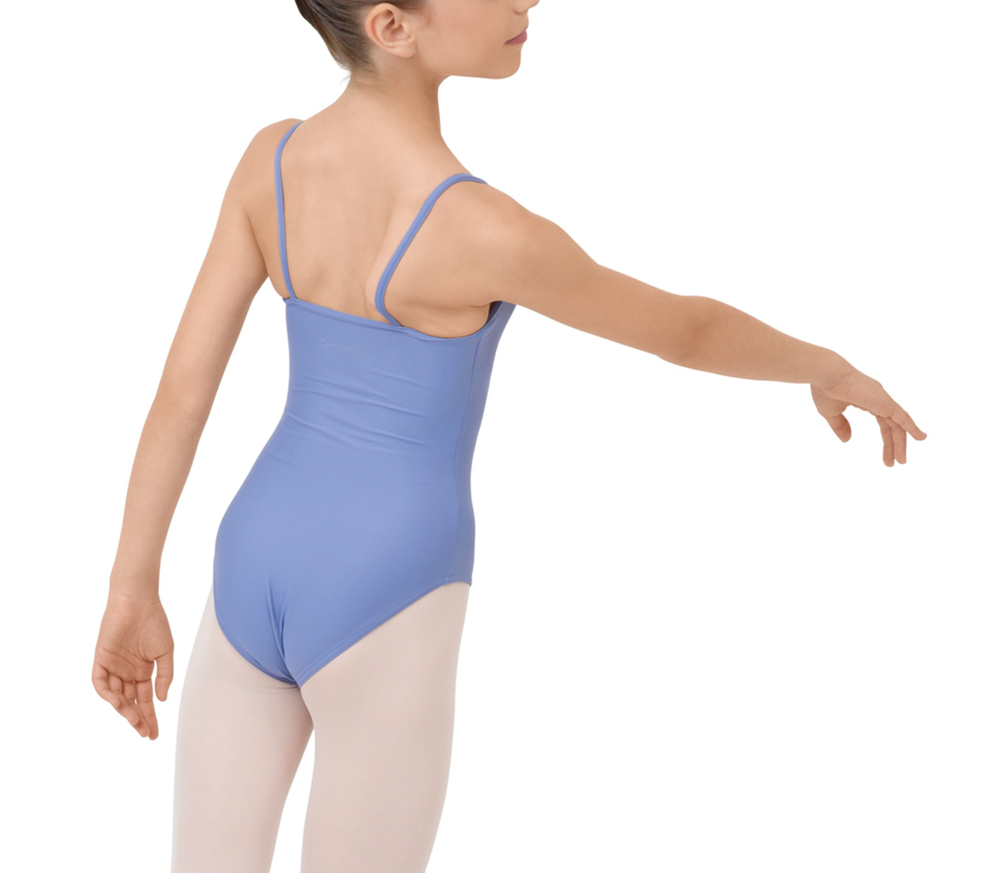 Girl thin straps leotard