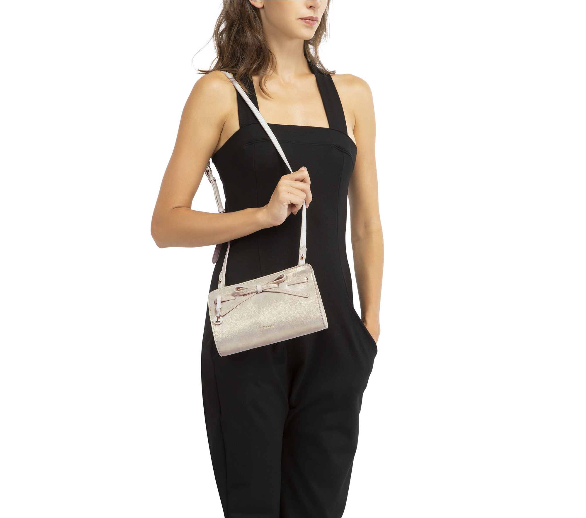 Arabesque clutch bag