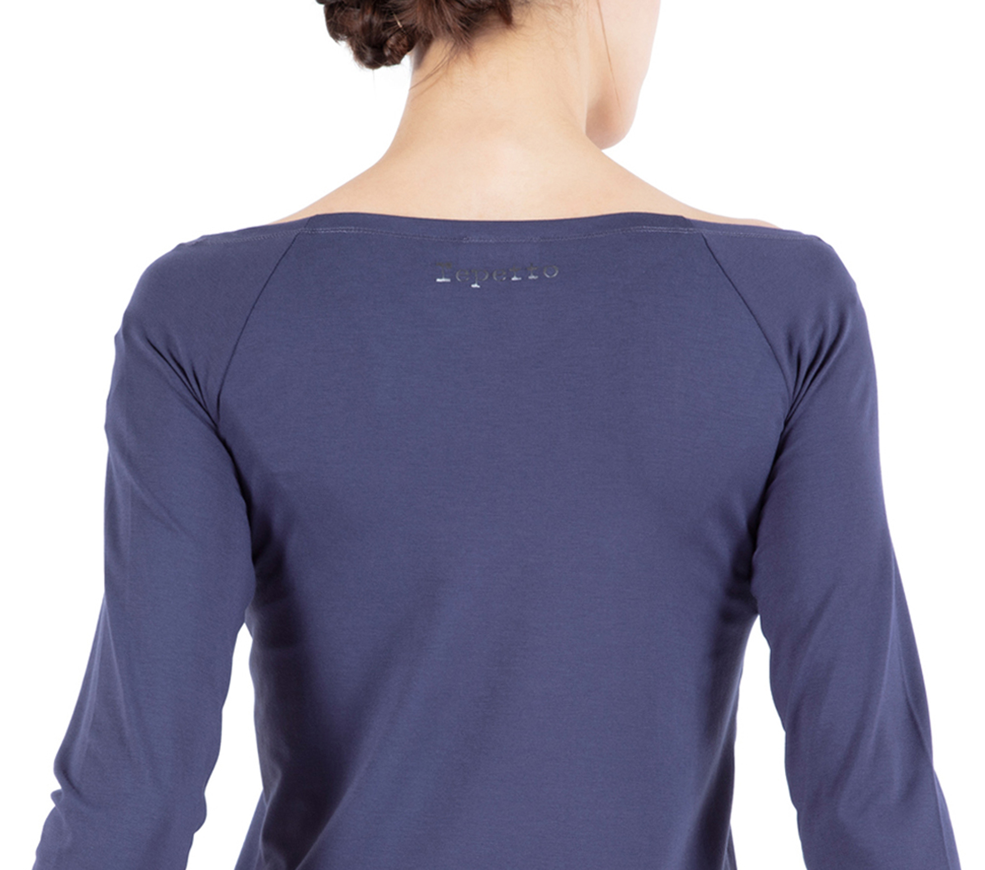 Ballerina neckline top