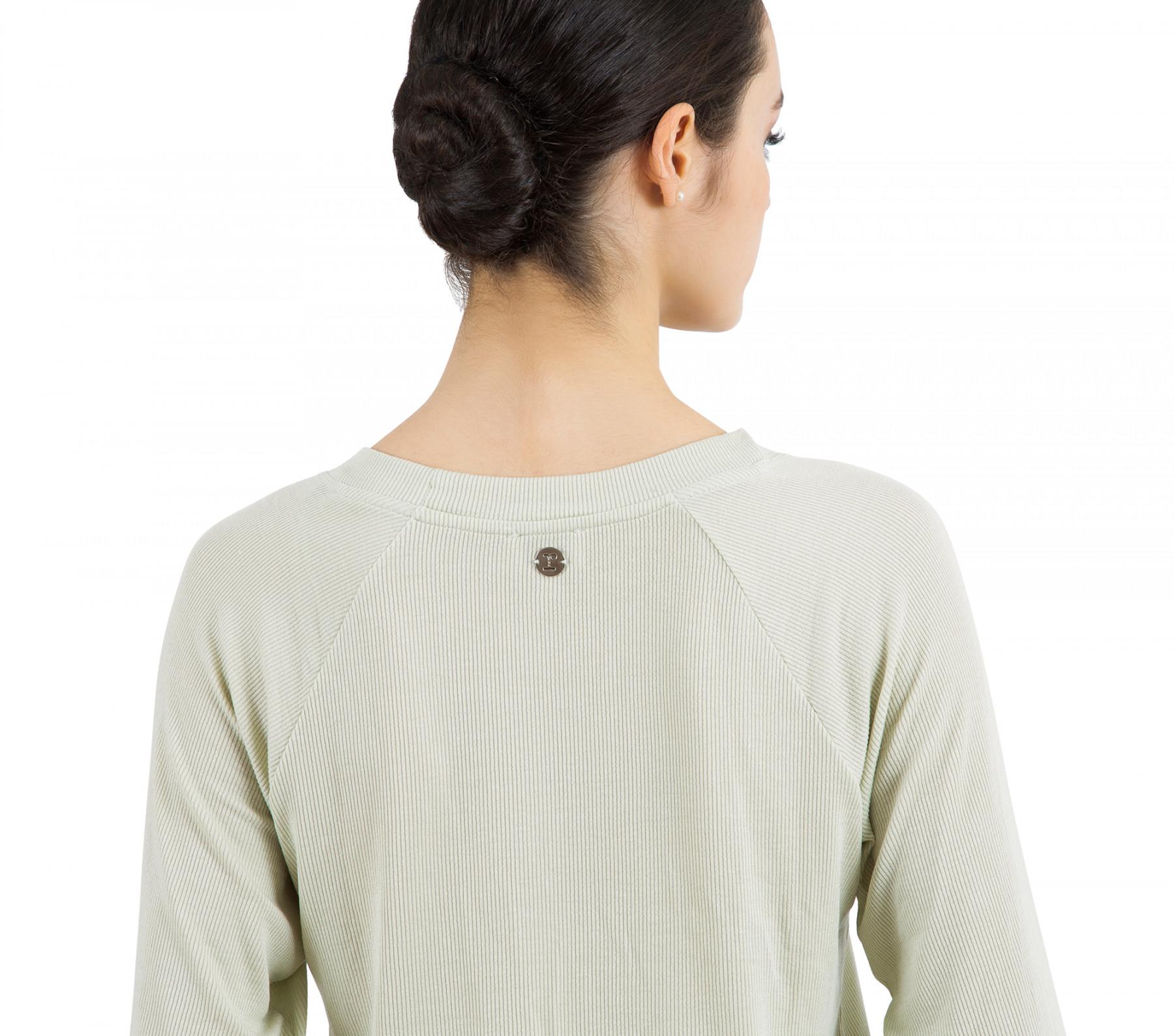 T-Shirt mit 7/8 Ärmeln aus Modal