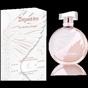 Das weiße Ballett, der neue parfümierte Repetto-Akt