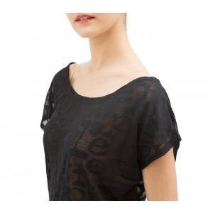 T-Shirt Transparenz Repetto
