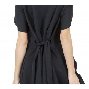 Kleid mit Neopren Effekt