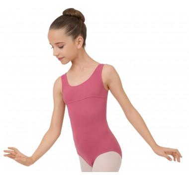 Mädchen Tanztrikot mit breiten Trägern