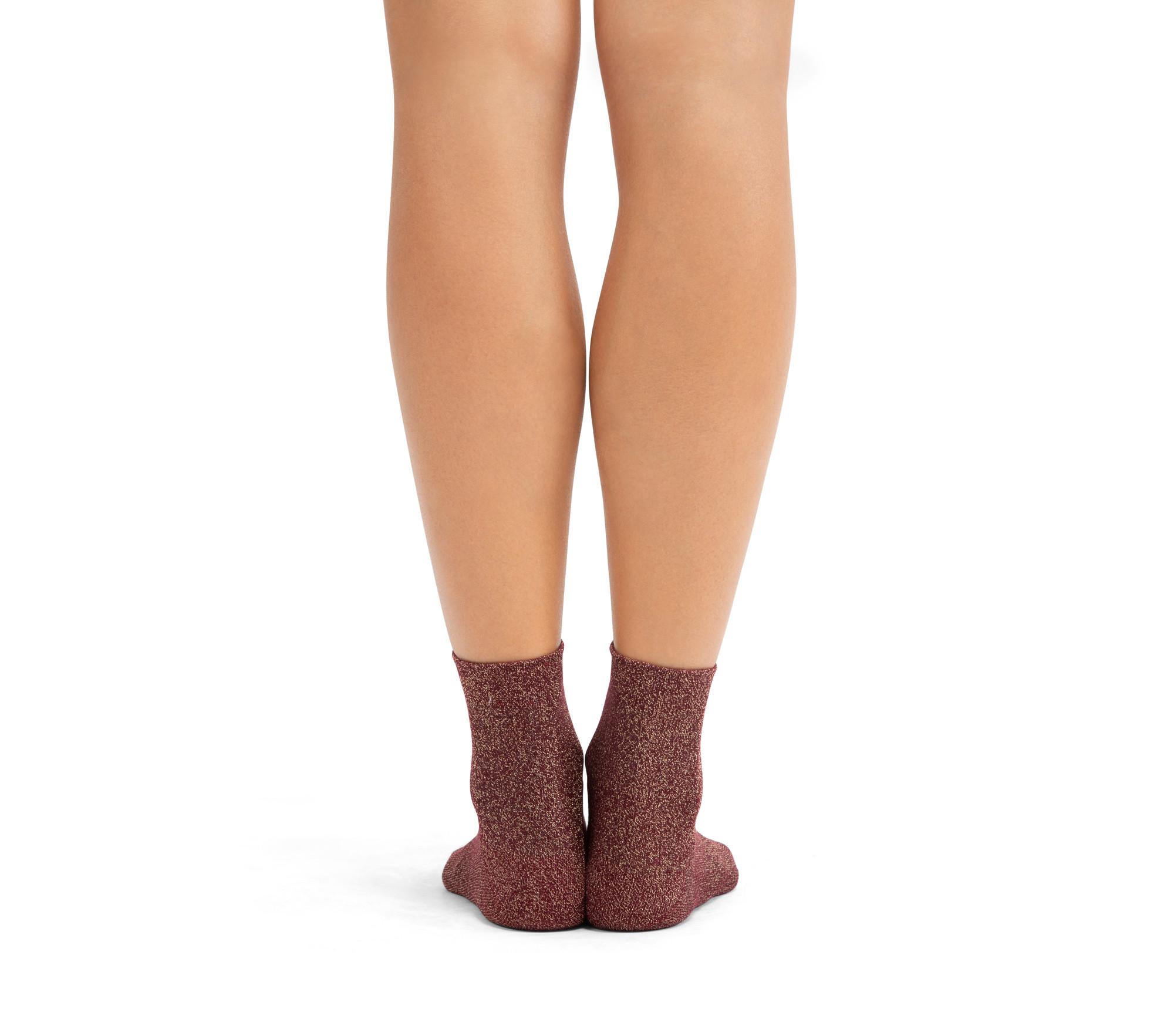 Socken aus Lurex