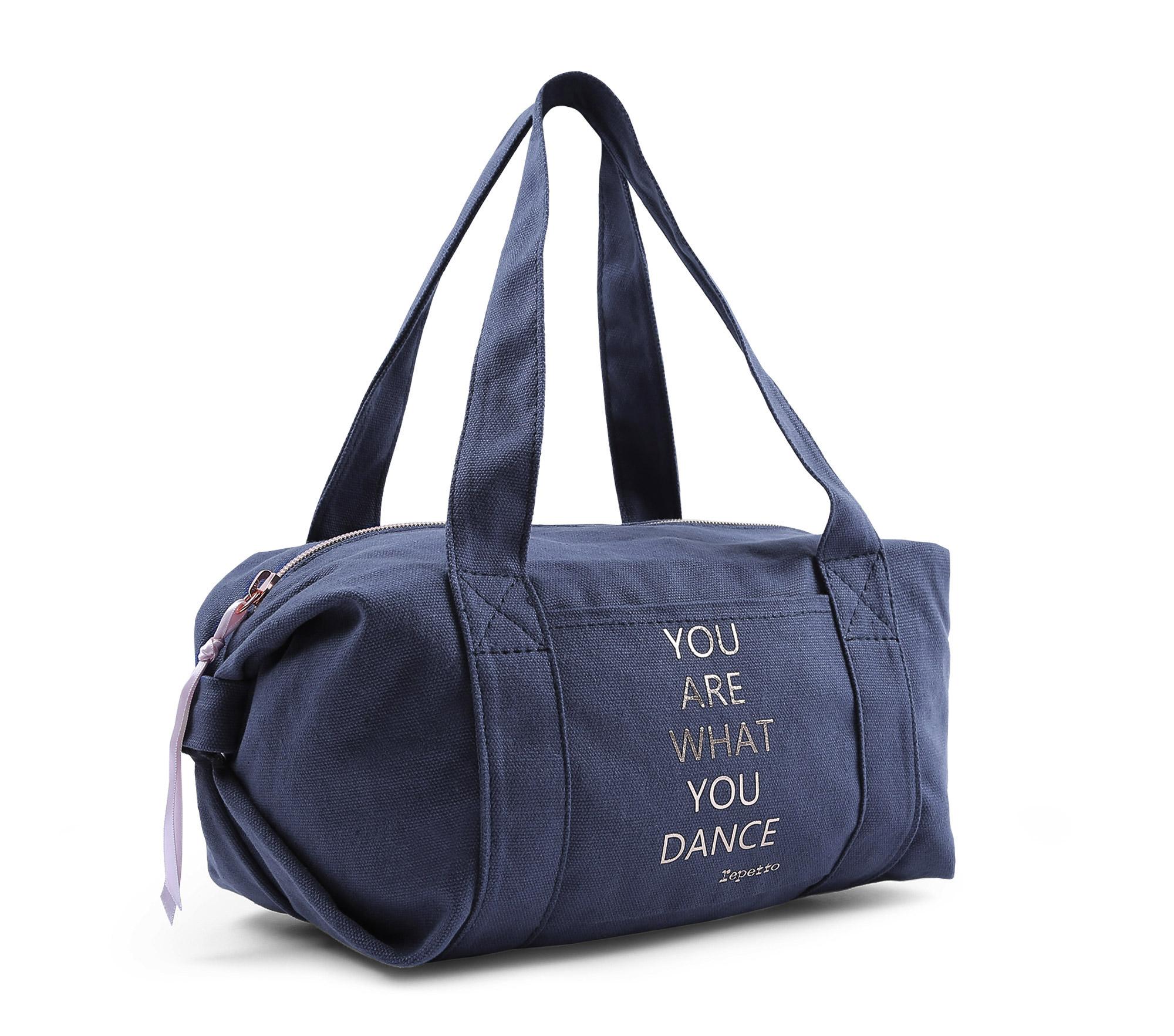 Baumwolle Sporttasche Polochon Größe S