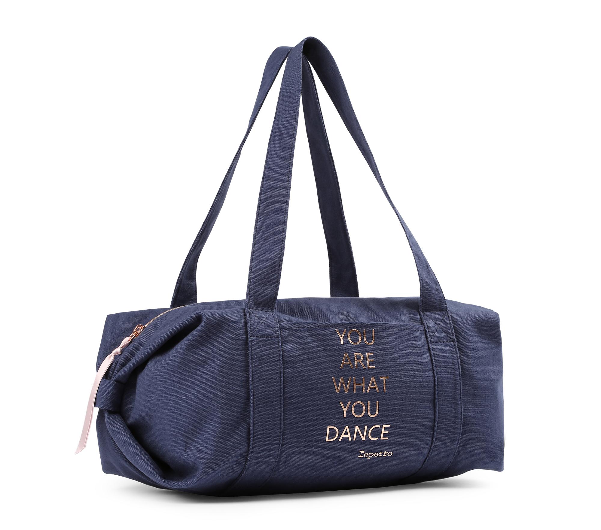 Baumwolle Sporttasche Polochon Größe M