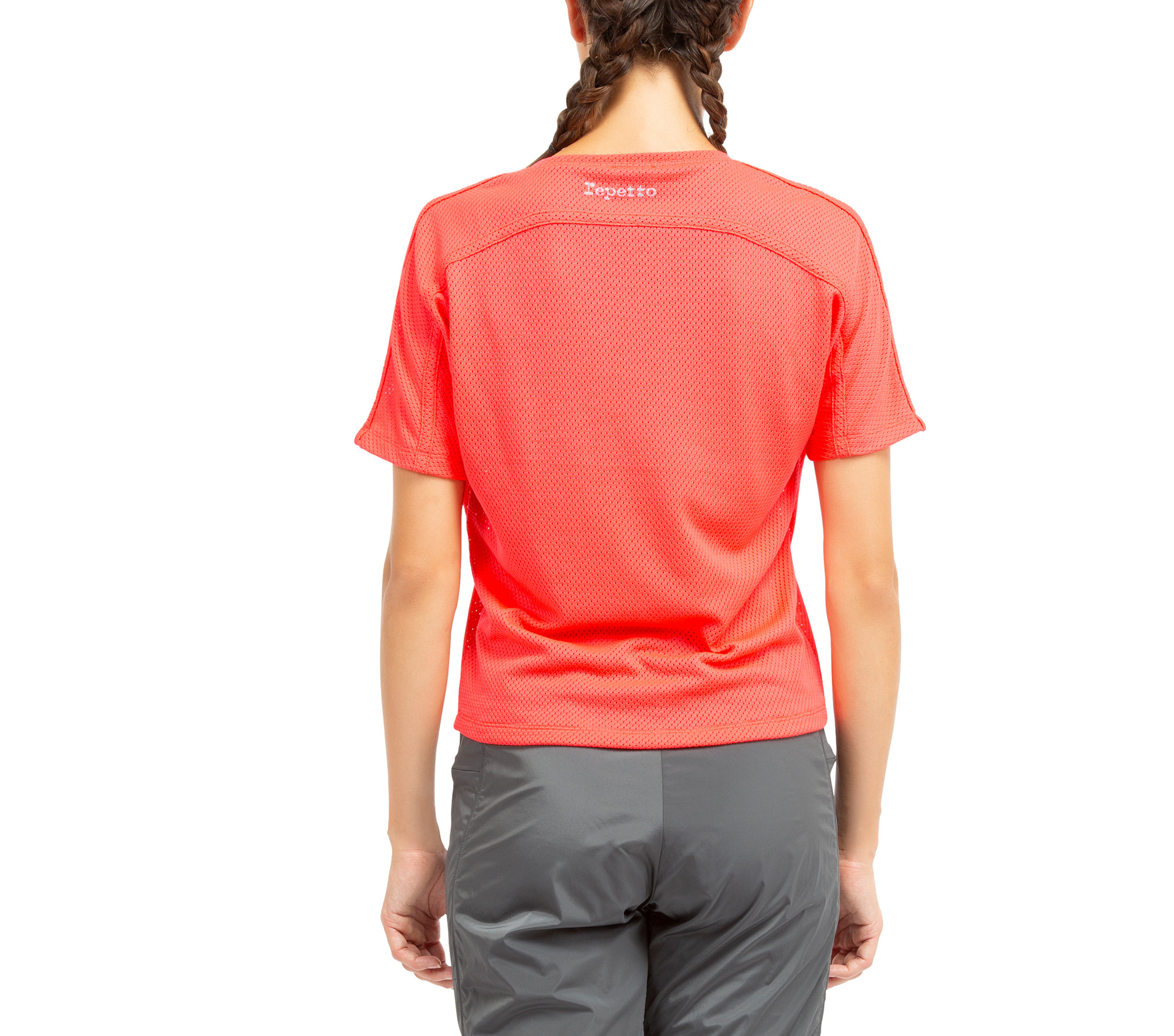 T-Shirt aus atmungsaktivem Mesh
