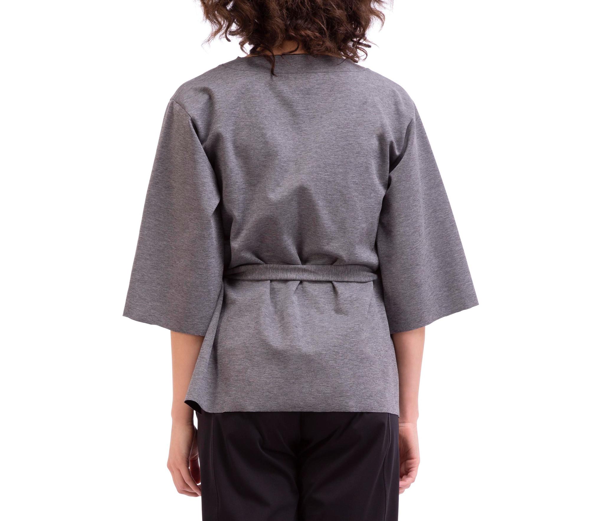 Sweatshirt aus Stretch-Strick, beidseitig