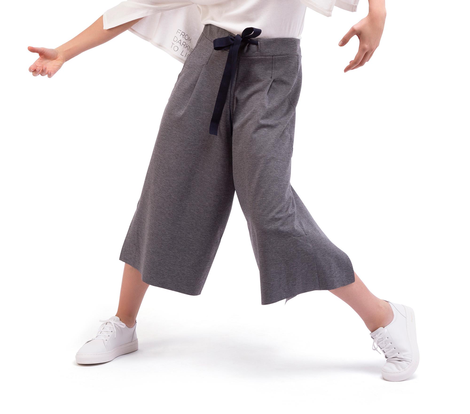 Hosenrock aus Stretch-Strick, beidseitig