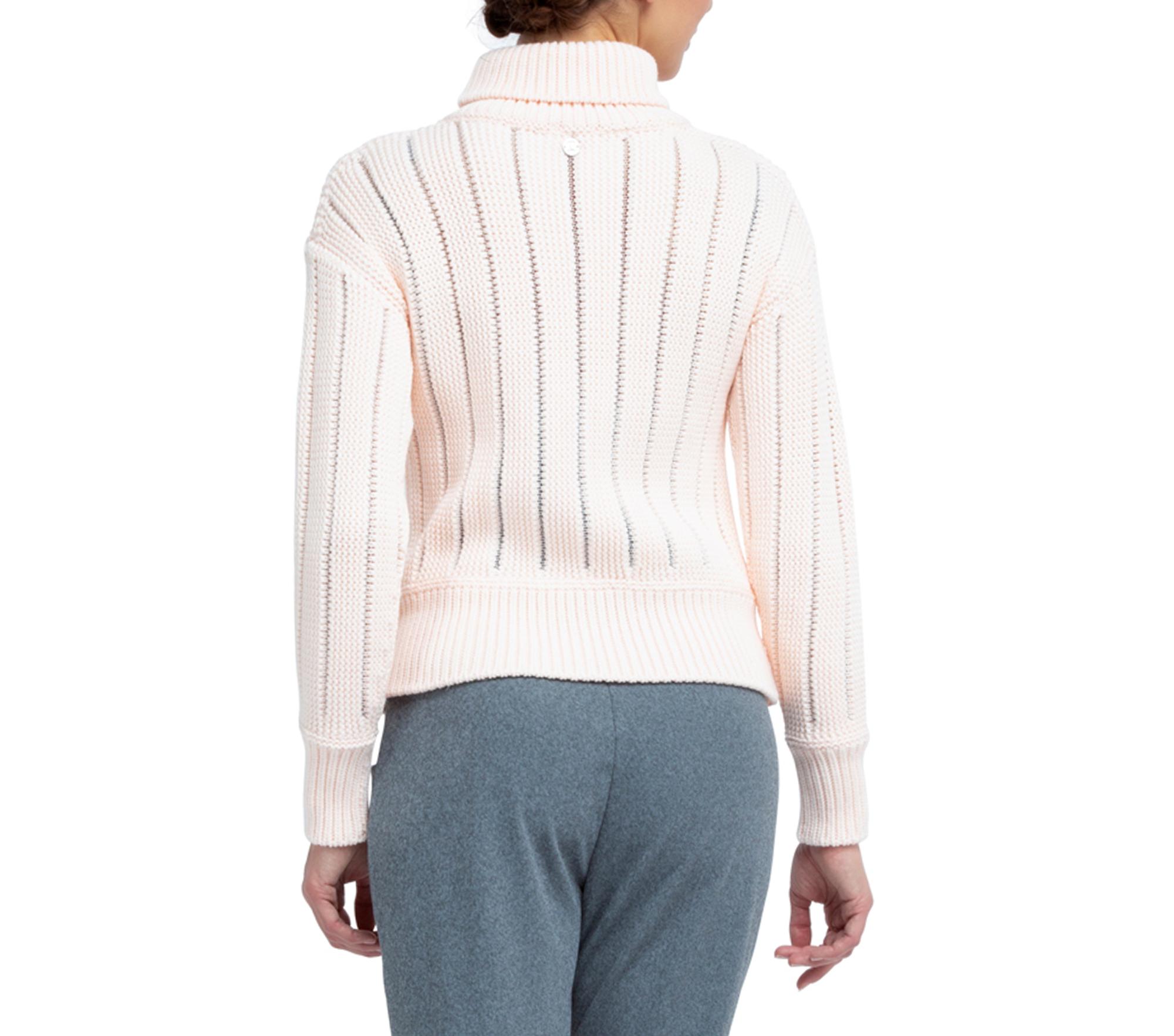 Mesh verziert Sweater