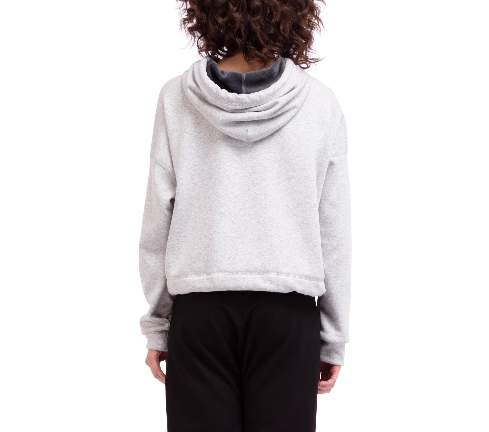 Wende-Sweatshirt aus weichem Molton innen