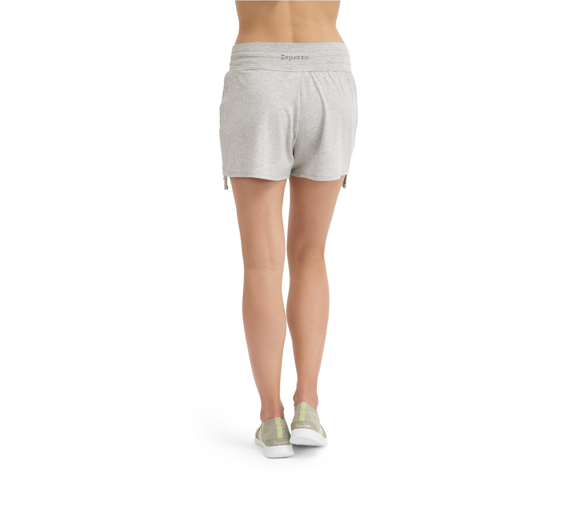 Kurze Shorts aus Viskose
