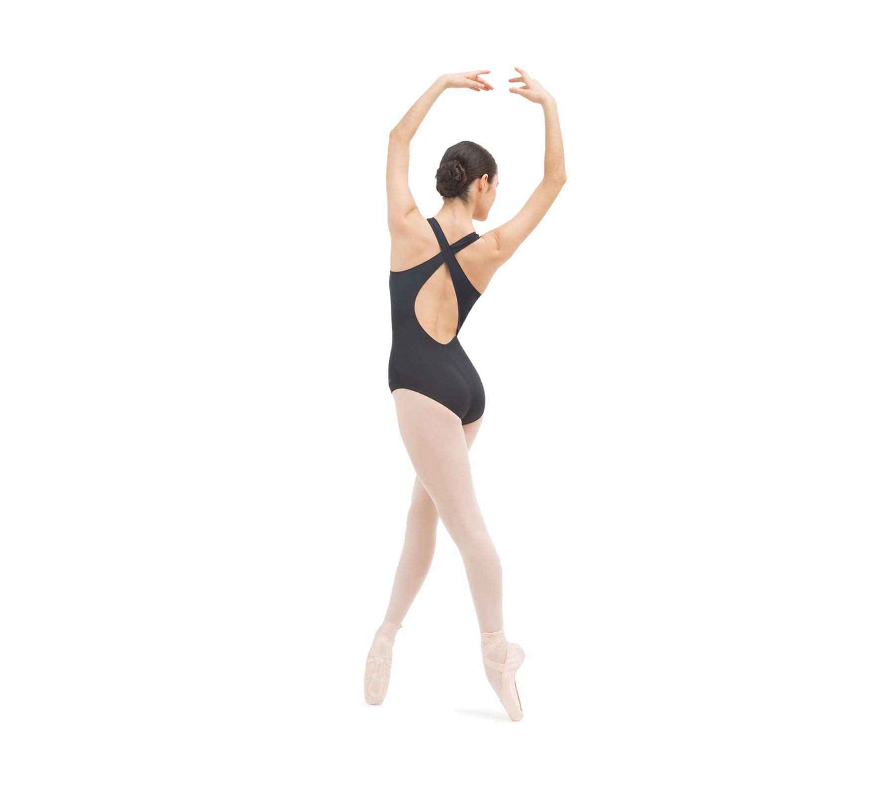 Body danza con scollo a goccia