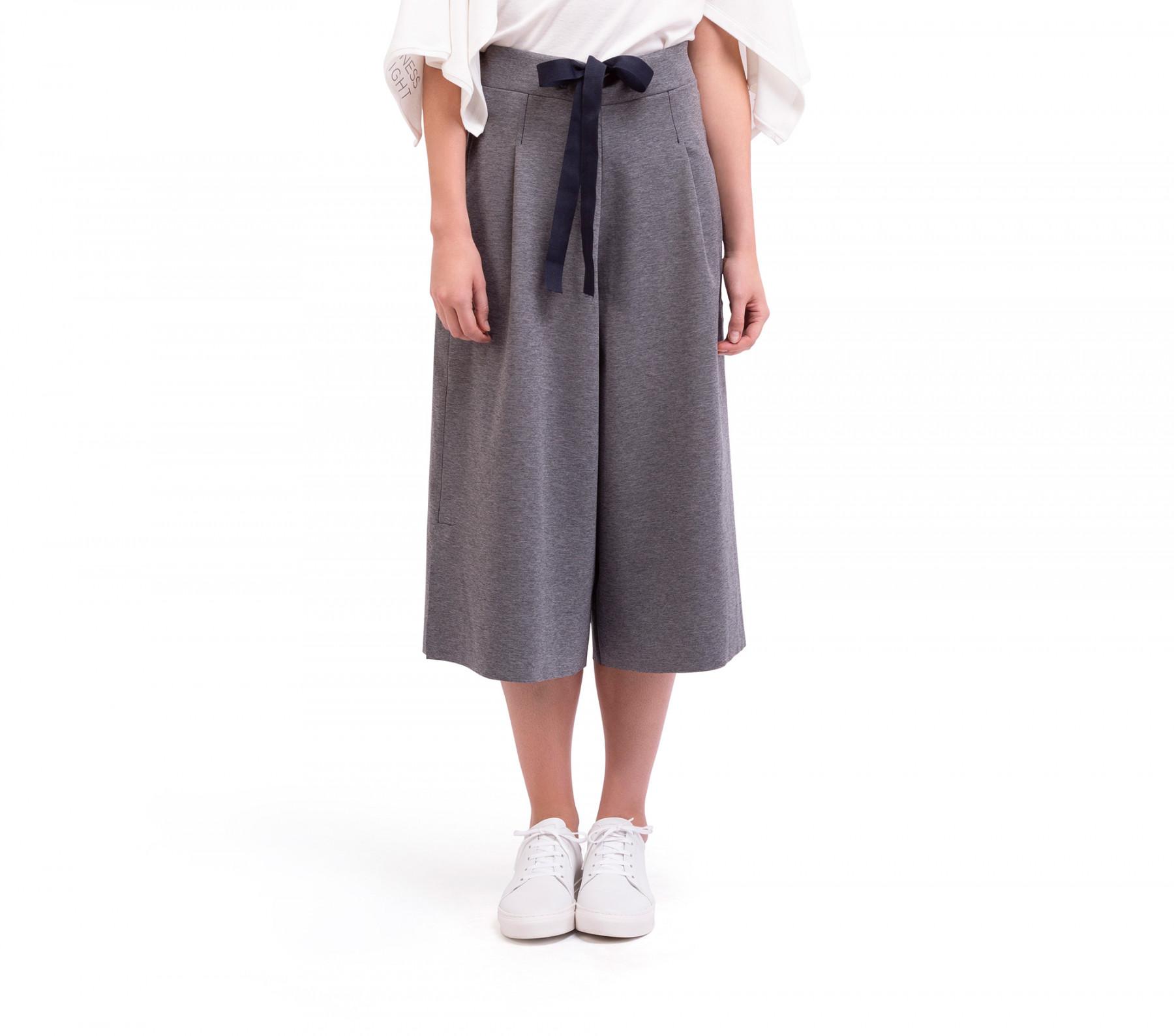separation shoes 471ea ebf8e Gonna-pantalone in maglia stretch double-face