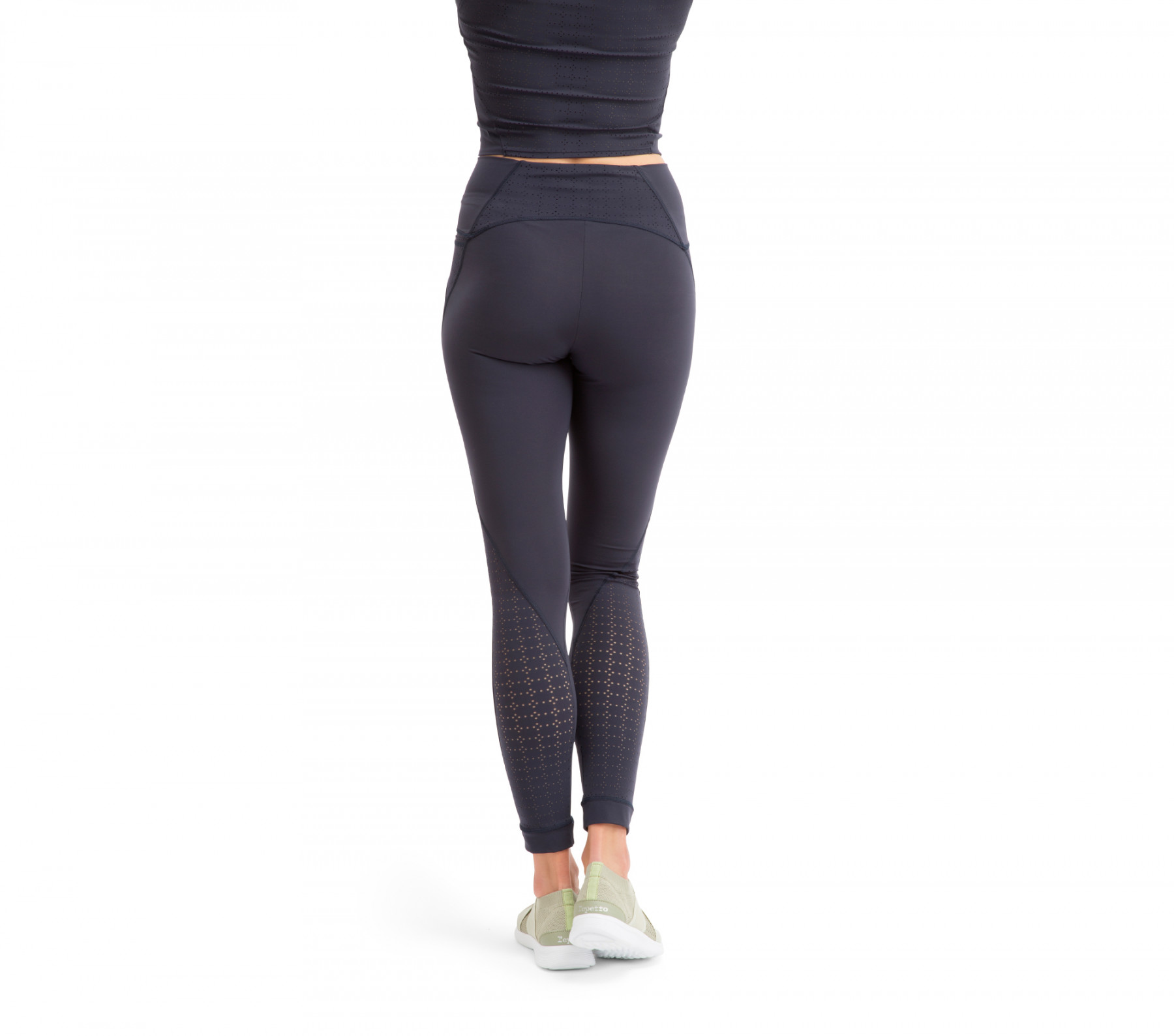 Leggings a vita alta high stretch