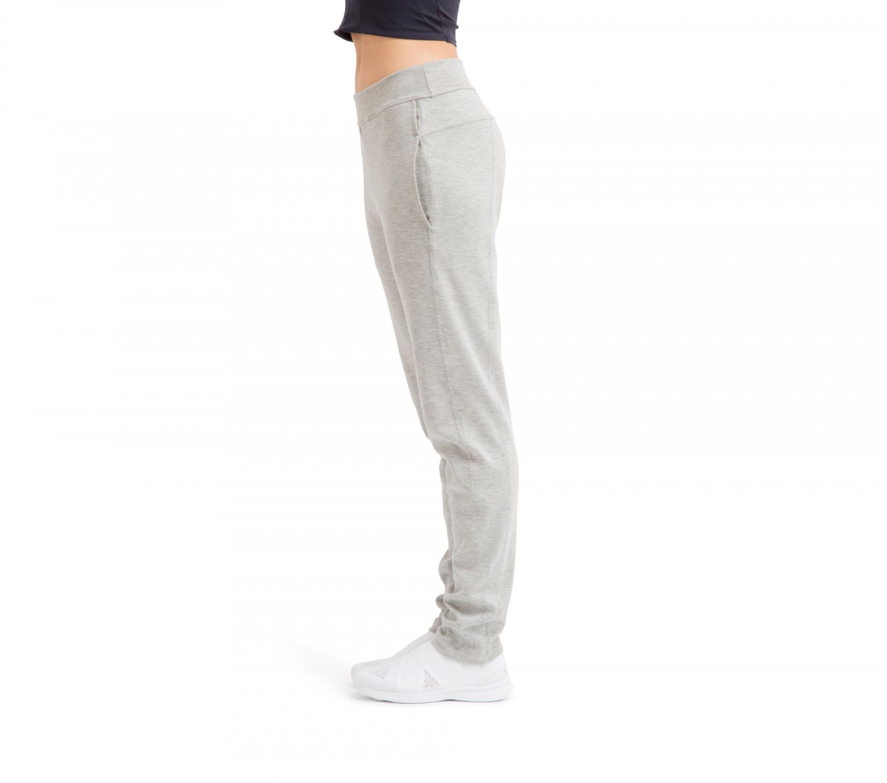 Pantalone a gamba dritta in maglia