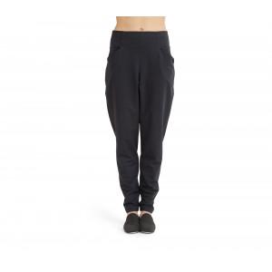 Pantaloni stretch a vita alta