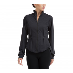 Felpa a camicia stretch
