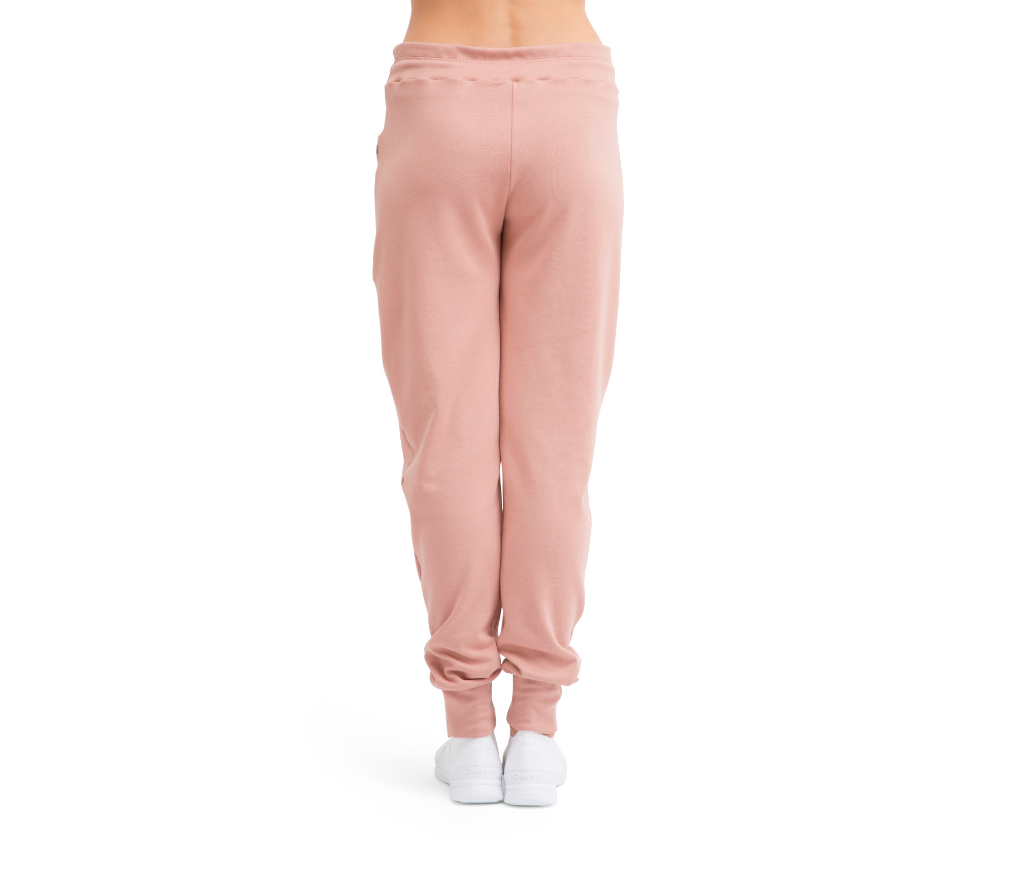 Pantalone loose in maglia