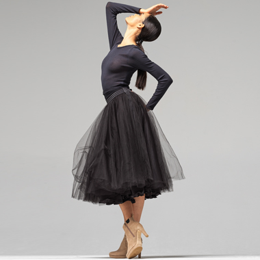 Ballerine long-lenght tutu skirt