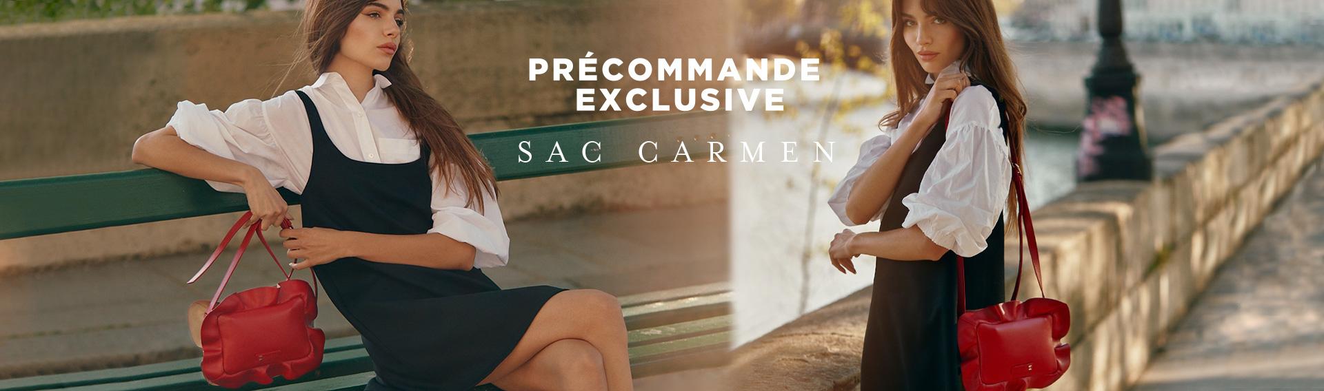 Précommande exclusive Sac Carmen