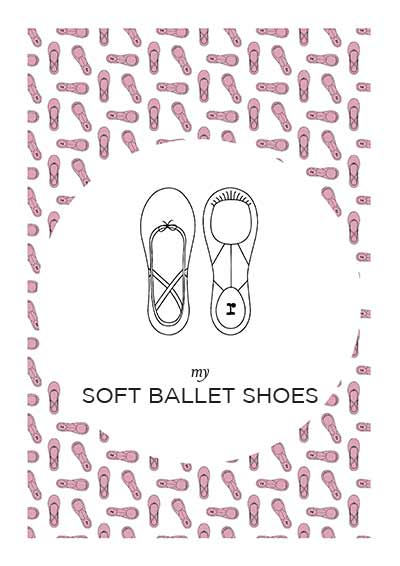 My soft ballet shoes