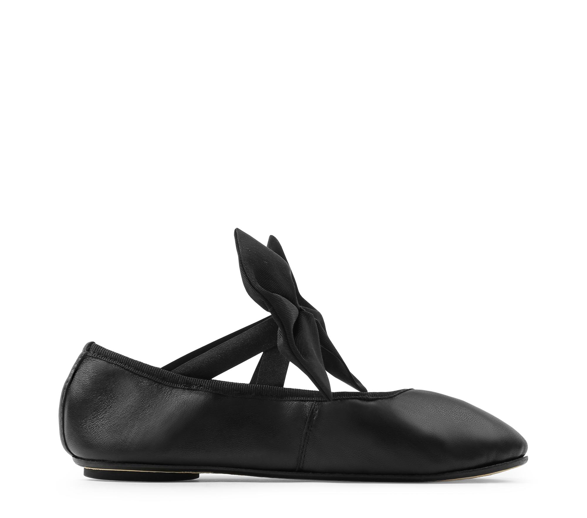 Black Sophia Ballerinas