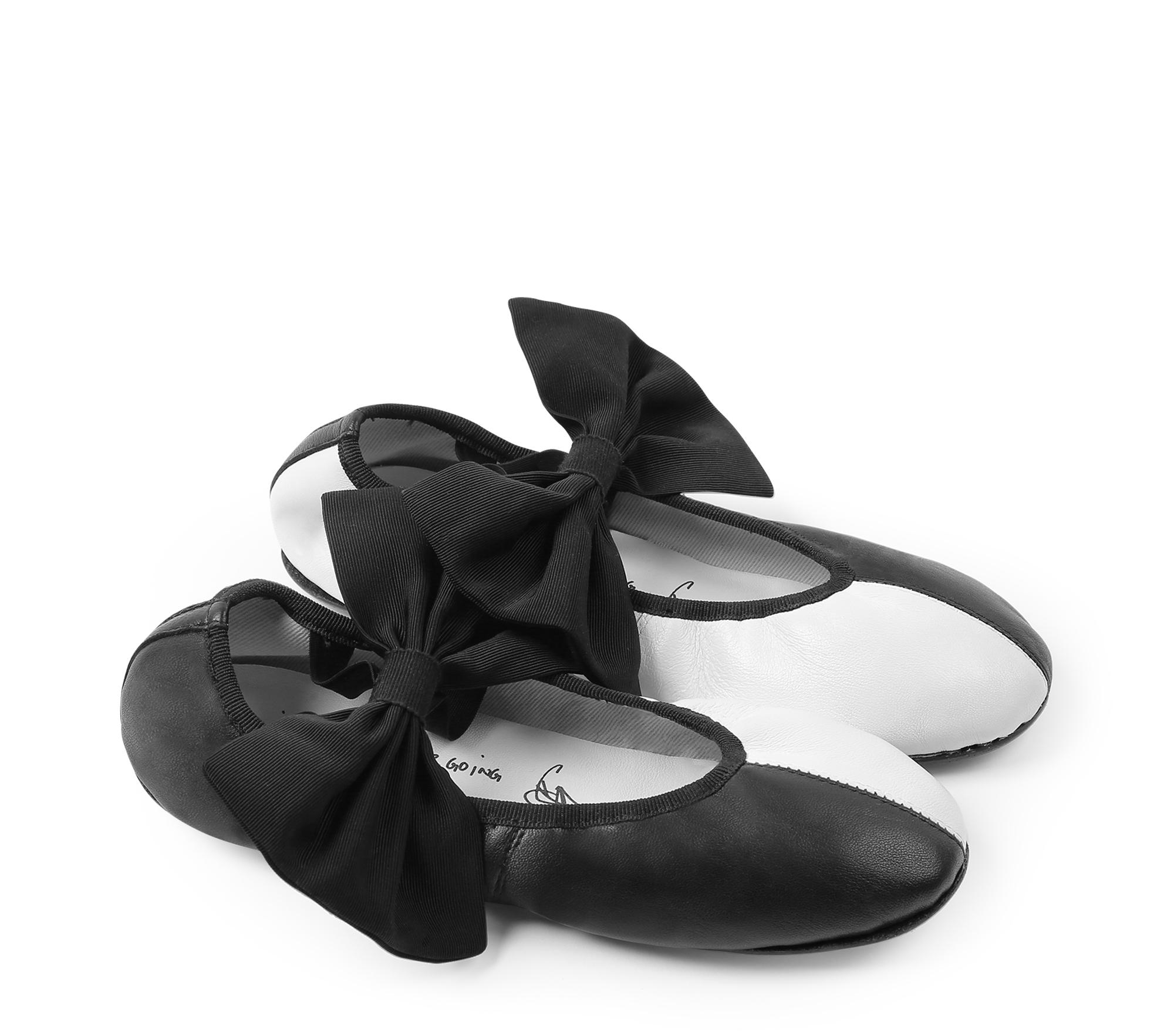 Bicolor Sophia Ballerinas